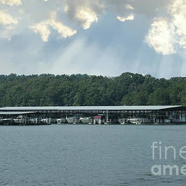 Portman Marina On Lake Hartwell In Anderson South Carolina by Dale Powell