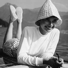Portrait Of Audrey Hepburn by Pictorial Parade