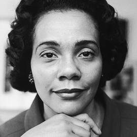 Portrait Of Coretta Scott King by Time & Life Pictures