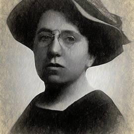 Portrait of Emma Goldman by Joaquin Abella