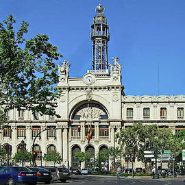 Post and Telegraph Building in Valencia, Spain by Lyuba Filatova