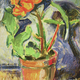 Pot Of Flowers by Alfred Henry Maurer