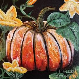 Poured Pumpkin by Crystal Elswick