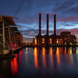 Power Station Providence Ri II Color by David Gordon