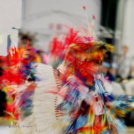 Powwow Abstraction #5 by Kae Cheatham