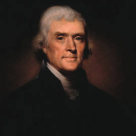 President Thomas Jefferson  by War Is Hell Store
