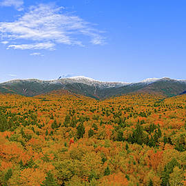 Presidential Range In New Hampshire by Dale J Martin