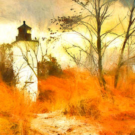 Presque Isle Lighthouse by Susan Hope Finley