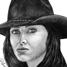 Pretty Cowgirl by Walter Israel