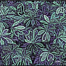 Pretty Leaves Tableau by Claudia O'Brien