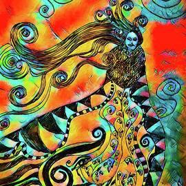 Princess Of Swirl by Stefan Duncan