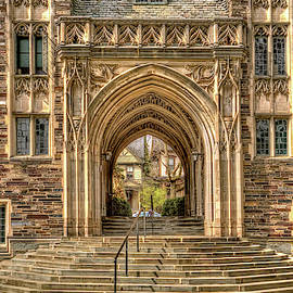 Princeton University Gothic arches and doorways  by Geraldine Scull