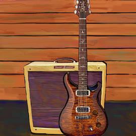 Pauls Guitar/Fender Bassman by Brad Burns