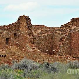 Pueblo Bonito Chaco Canyon by Debby Pueschel