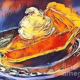 Pumpkin Pie - 2  by Lavender Liu