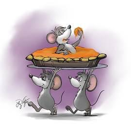 Pumpkin Pie Celebration by Liz Viztes