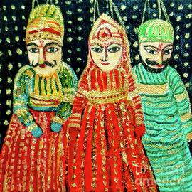 Puppets Of Rajasthan by Asha Sudhaker Shenoy