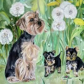 Puppies by Maria Sibireva