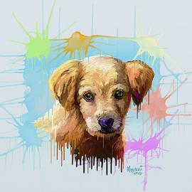 Puppy by Anthony Mwangi