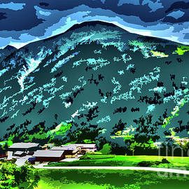 Pure Green Valley Alps by Bumsable