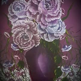Angela Whitehouse - Purple elegance dark
