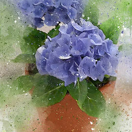 Purple Flowers FF by Peggy Cooper