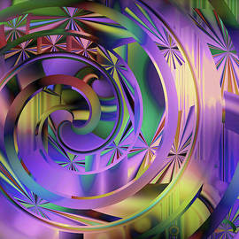 Purple Magic Lights  Show by Grace Iradian