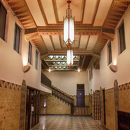 Pythian Building Hallway Tulsa by See More Photography