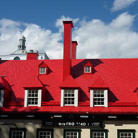 Quebec City restaurant by Patricia Caron