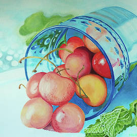 Queen Anne Cherries by Marilyn Hilliard