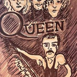QUEEN  Bohemian Rhapsody  by Geraldine Myszenski