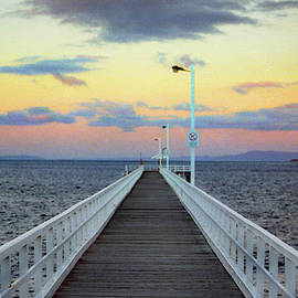 Queenscliff Sunset by Jerry Griffin