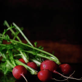 Radiant Radishes by Cassi Moghan