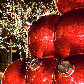 Radio City Christmas Balls - New York City by Mary Ann Artz