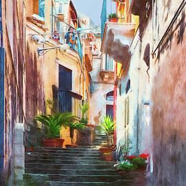 Ragusa Alley by Claude LeTien