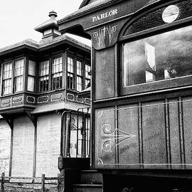 Railroad Luxury Parlor Car by Paul W Faust - Impressions of Light
