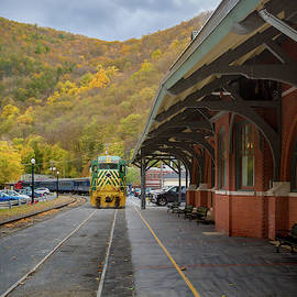 Railroad Station by Jack R Perry