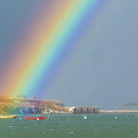 Jesse MacDonald - Rainbow at Spring Point Ledge