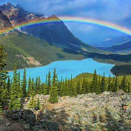 Rainbow Mouintain Landscape by Dan Sproul