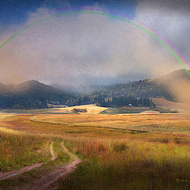 Rainbow Out West by R christopher Vest