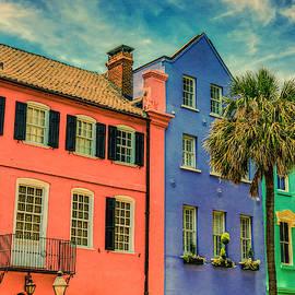 Rainbow Row Charleston by Dan Sproul