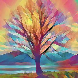 Rainbow Tree by Lynn Bolt