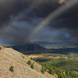 Rainbows over Jackson Hole by Kathleen Bishop