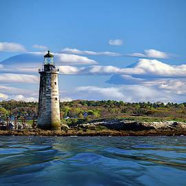 Ram Island Ledge Light On A Spring Morning by Rick Berk