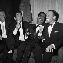 Rat Pack At Carnegie Hall by Bettmann