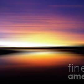Sunrise Surprise Rathtrevor Beach  by Bob Christopher