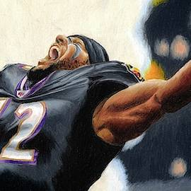 Ray Lewis 2 by Philippe Thomas