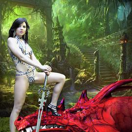 Rebel Dragon Slayer by Jon Volden