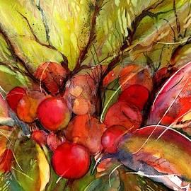 Red Autumn Berries by Sabina Von Arx