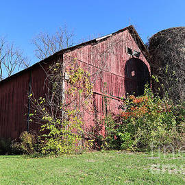 Red Barn 29 Rural Columbus, Indiana by Steve Gass